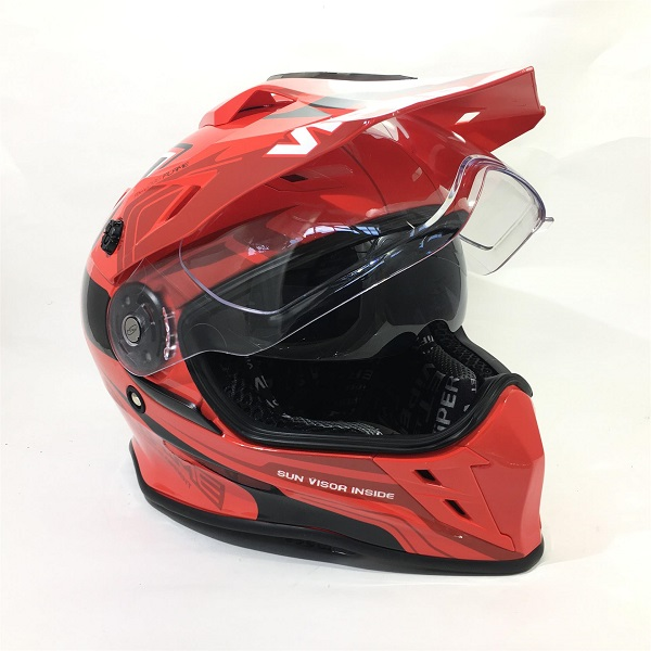 Raceways Rxv288 Double Visor Enduro Helmet Raceways